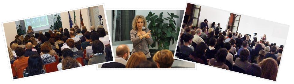 Simona Oberhammer - collage conferenze