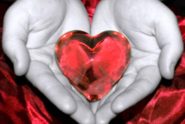 Cuore tra le mani - San Valentino