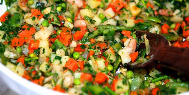Cucina verdure