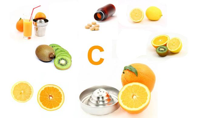 Frutta e alimenti con Vitamina C