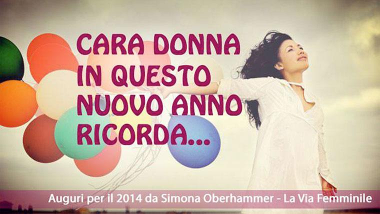 Cara donna quest'anno ricordati, Simona Oberhammer