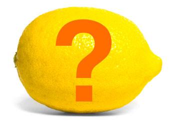 Acqua e limone domanda