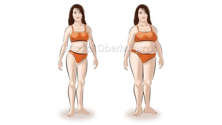 Biotipo terra donna normopeso e sovrappeso