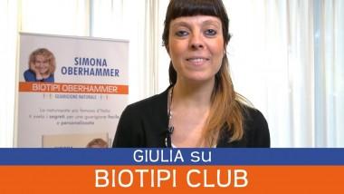 Giulia: opionioni Biotipi Club