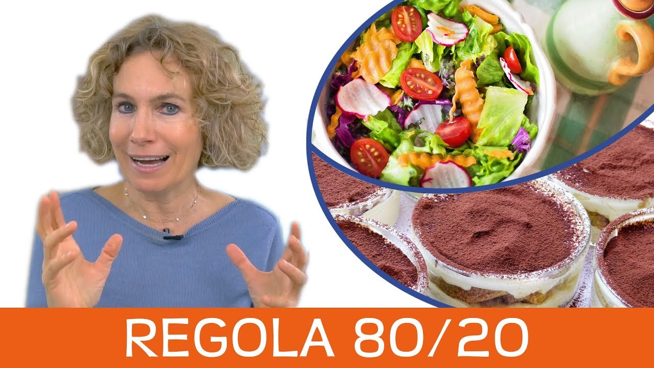 Mangiare sano senza estremismi con la regola 80 - 20 secondo il metodo Biotipi Oberhammer